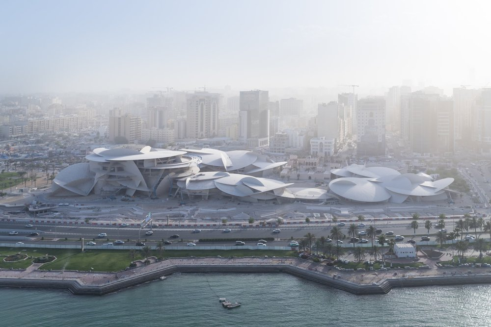 Jean Nouvel Finishes National Museum of Qatar in Doha