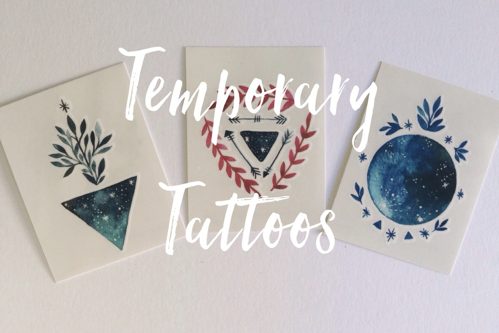 Tiny tattoos by Nieves Pumarejo