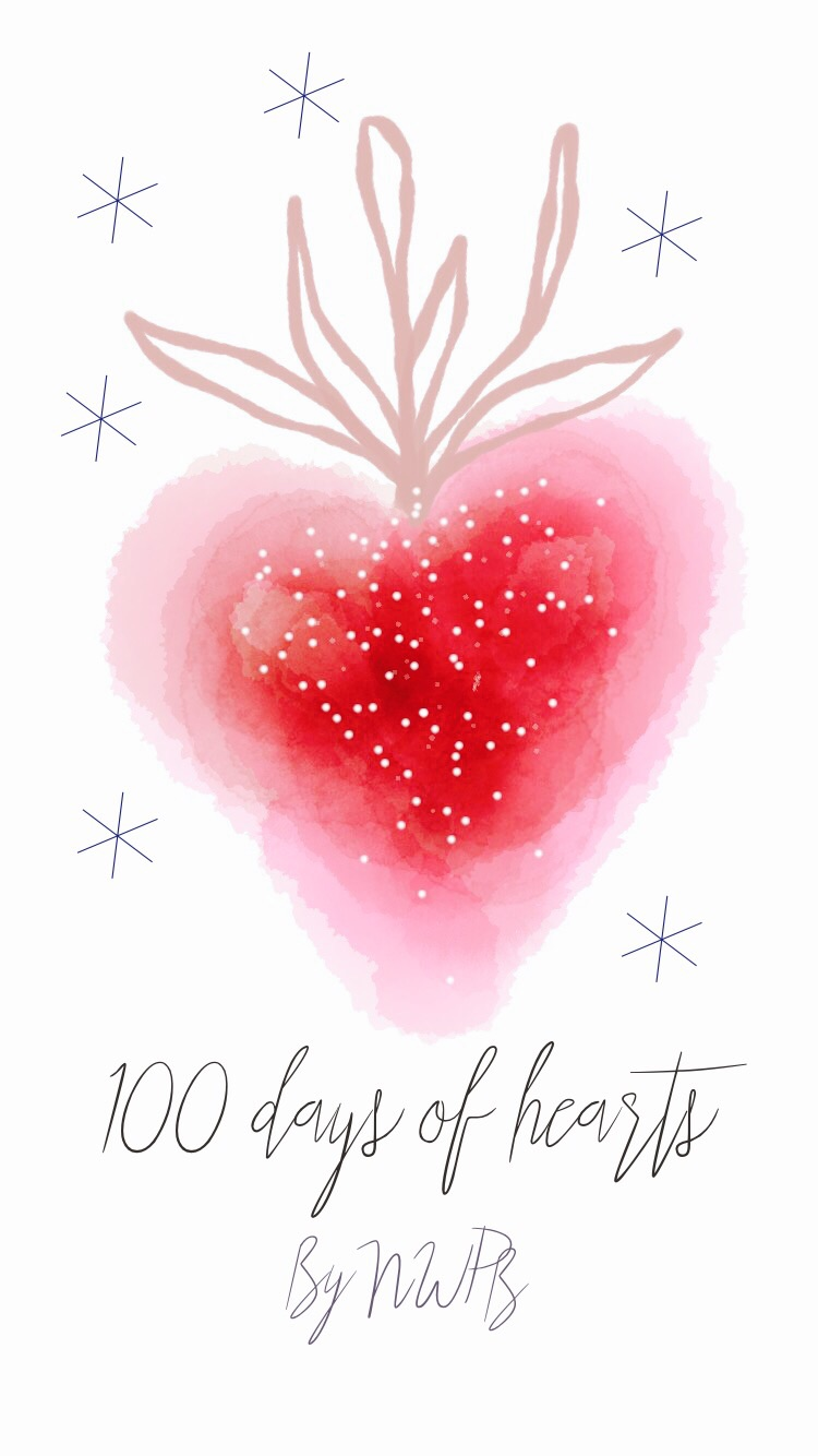 100 days of hearts by Nieves
