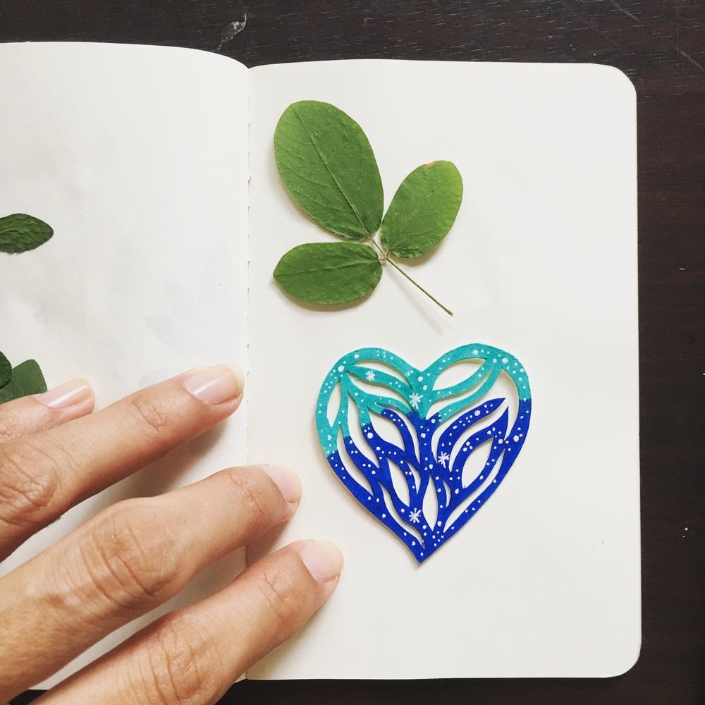 A tiny heart...