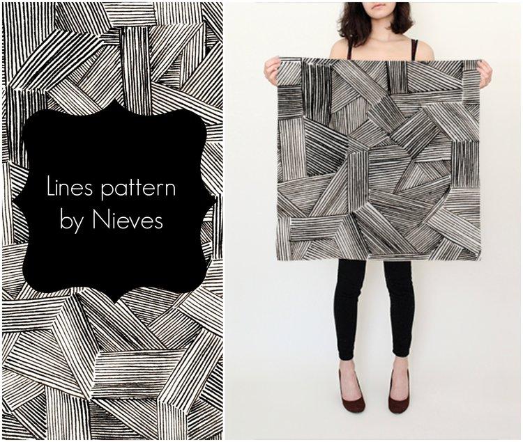 lines pattern by Nieves Pumarejo