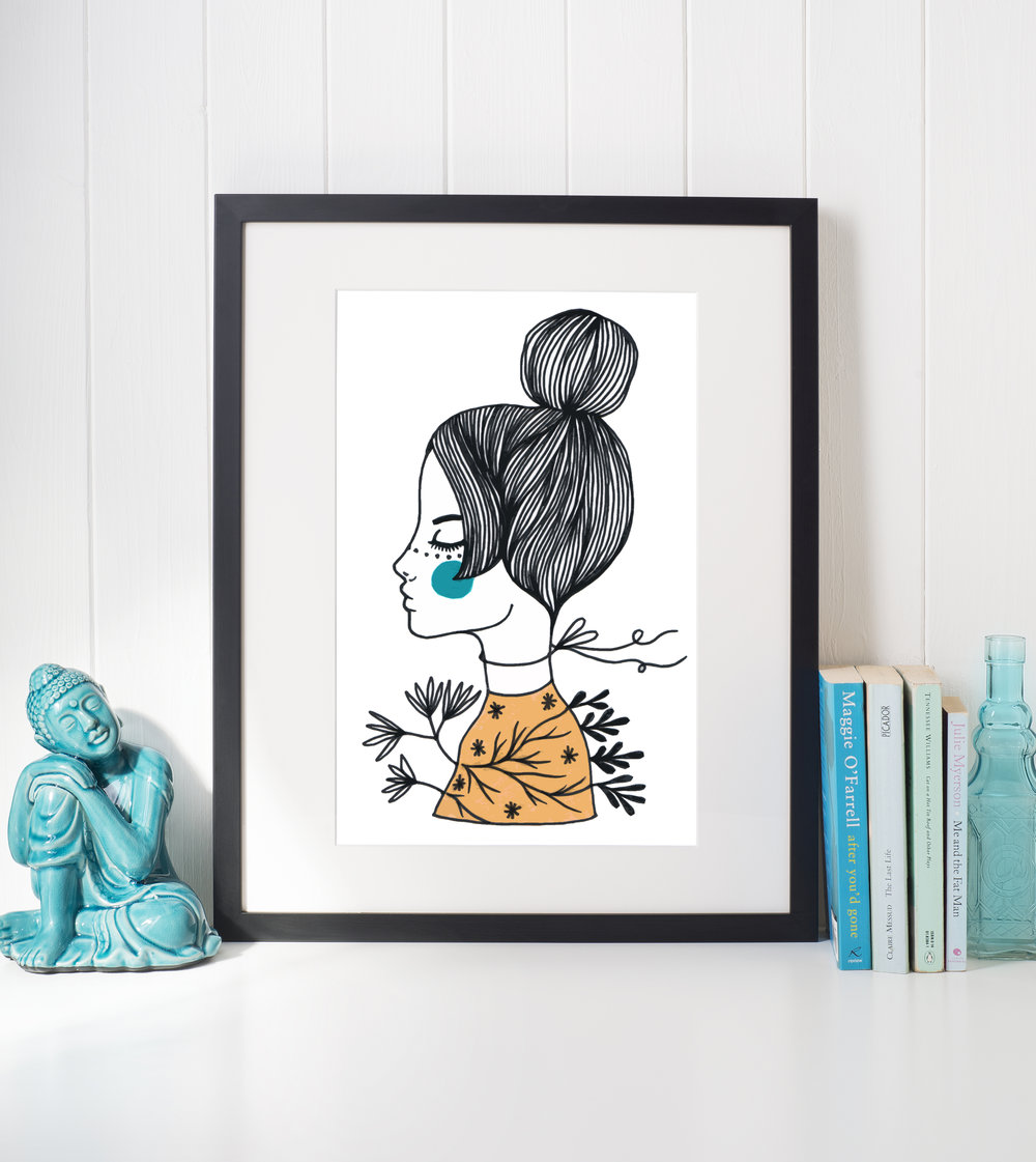 Miss Claudia - new art print