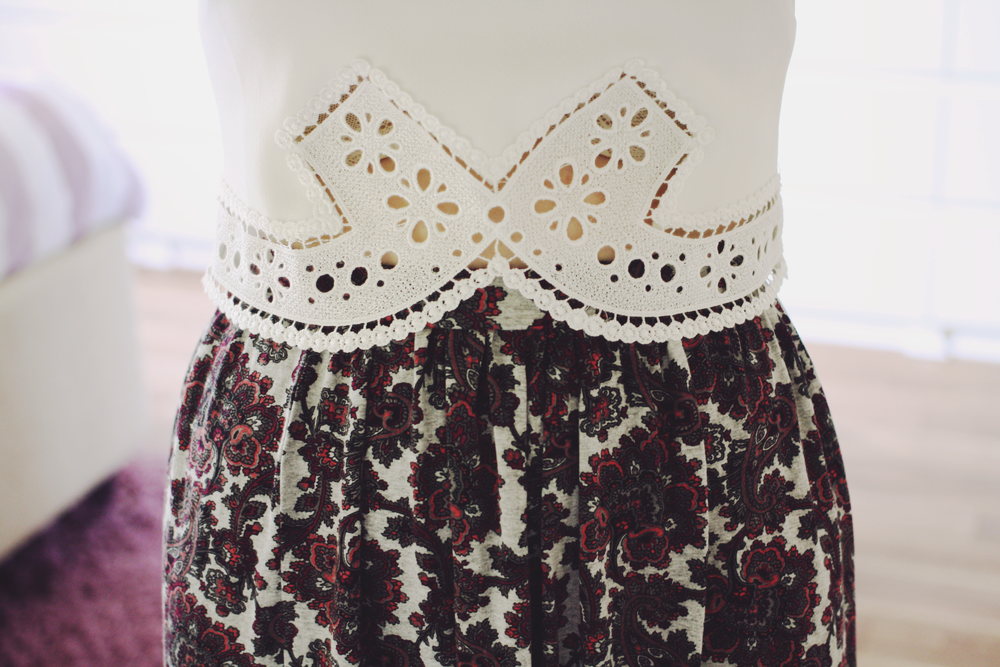 TOPSHOP CROP TOP, ASOS SKIRT