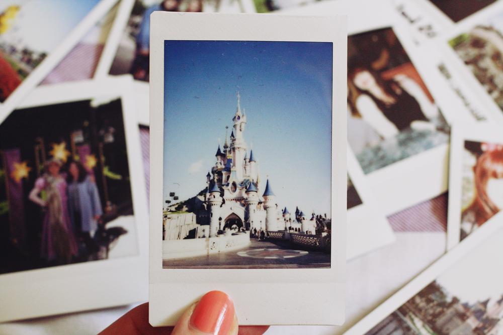 Disneyland Polaroid
