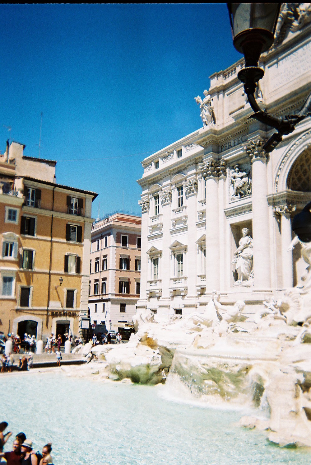 Dodgy disposable shot of the Trevi Fountain