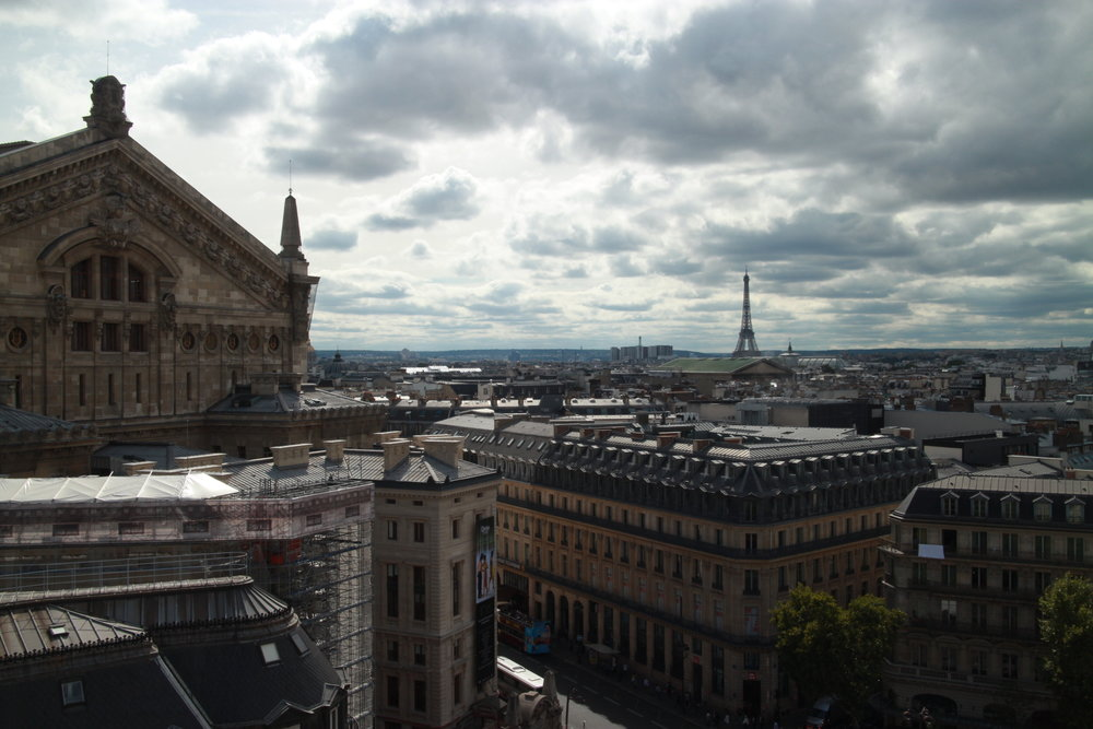 The View From The Afternoon (Galeries Lafayette)
