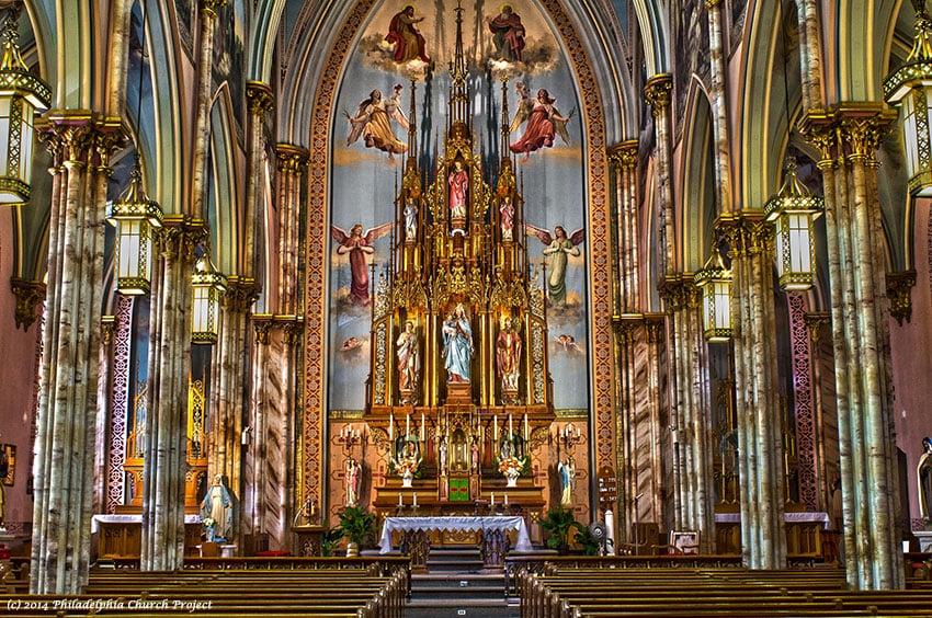 Interior, St. Laurentius