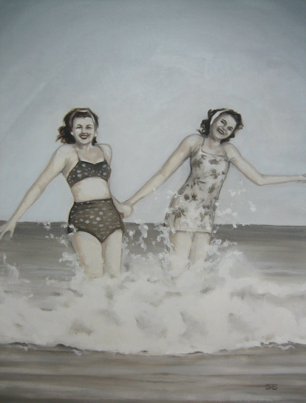 Ladies Splashing, 2016