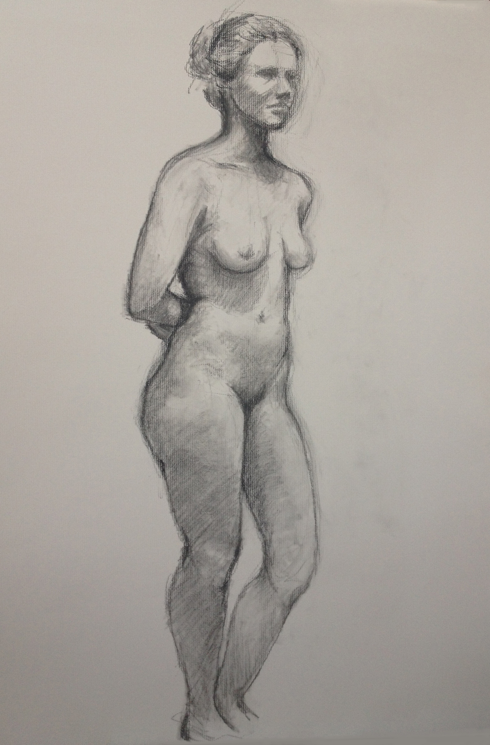 Standing Nude, 2015