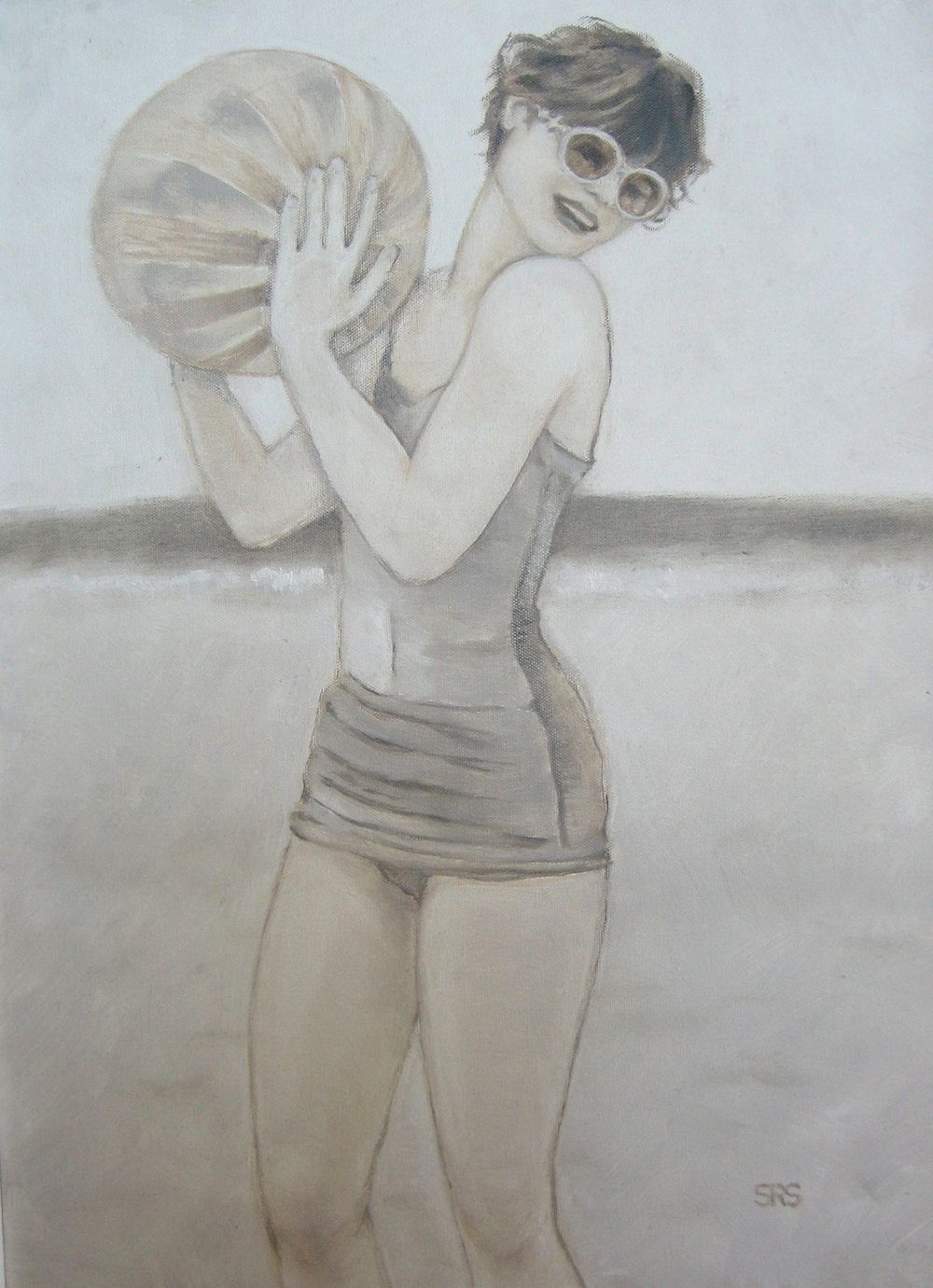 Beach Ball Girl, 2015