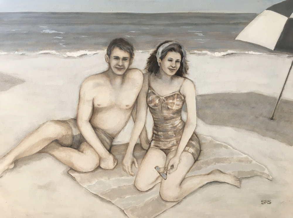 Beach Couple, 2016