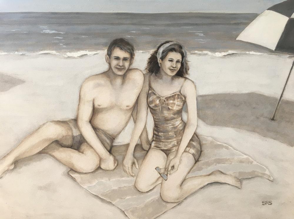 Beach Couple, 2016