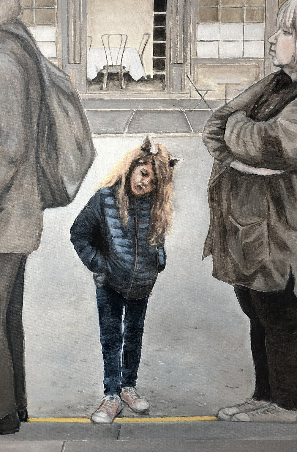 Girl On Line, London, 2018