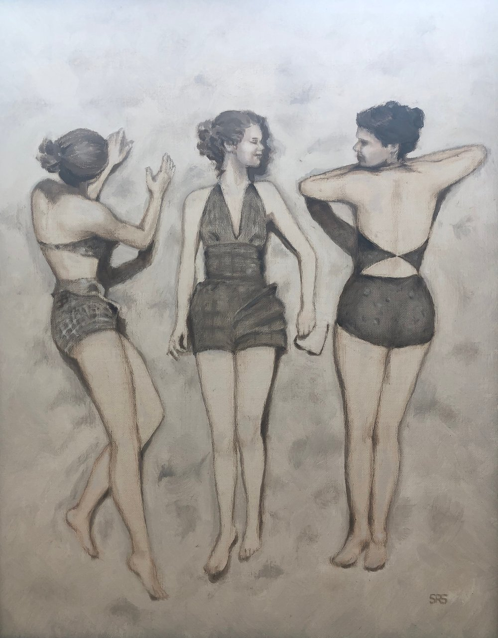 Ladies Sunbathing, 2015