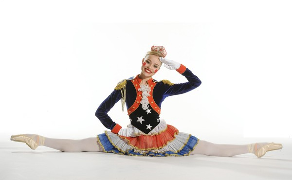 """Housekneckt in a promotional image for The Washington Ballet's """"The Nutcracker."""""""