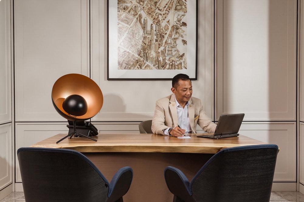 Yacob Surip, Chief Concierge