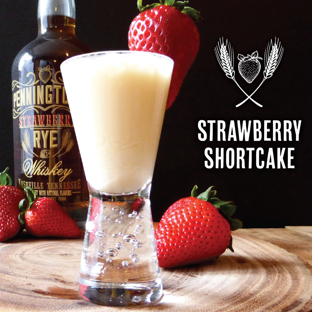 All the flavors of Strawberry Shortcake - in a shooter!