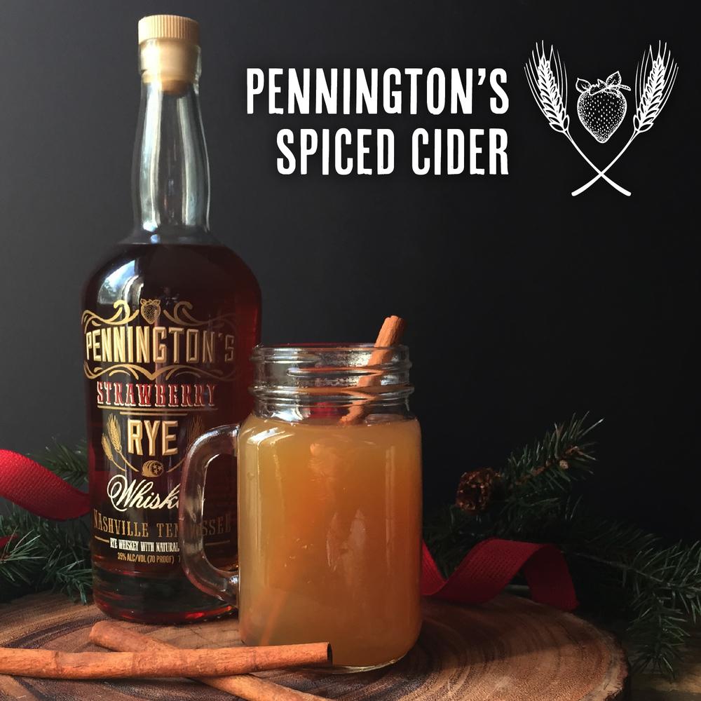 Delicious Pennington's Spiced Cider Recipe