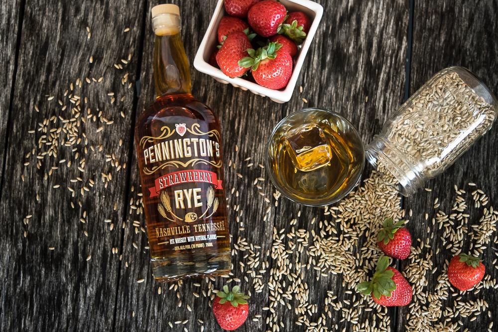 Pennington's Strawberry Rye Whiskey
