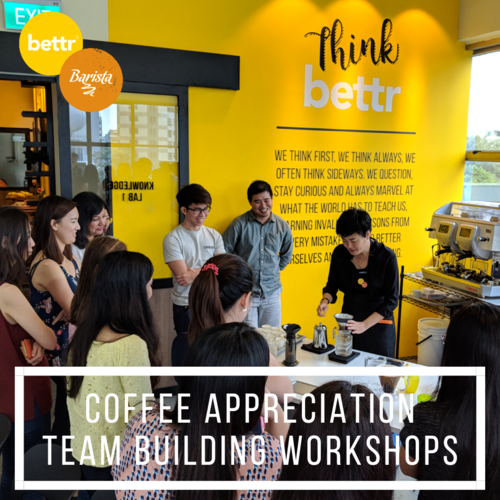 Teambuilding And Group Workshops Bettr Barista Coffee Academy