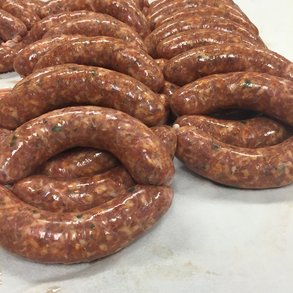 Hot Italian Sausage Links!