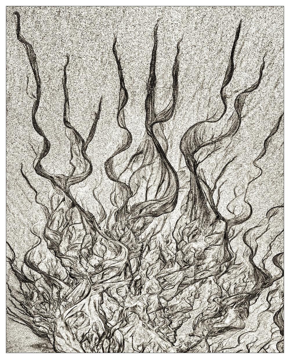 Sand Art - Flames