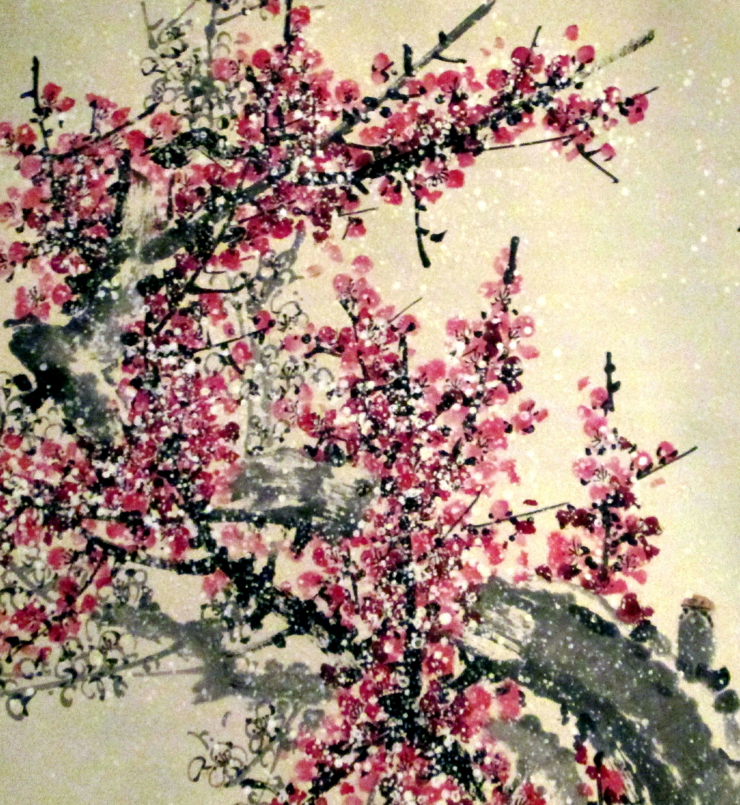 Snow on Plum Blossoms