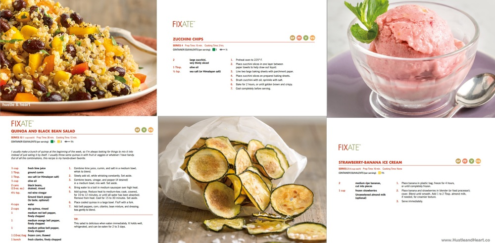 Fixate-cookbook-recipies