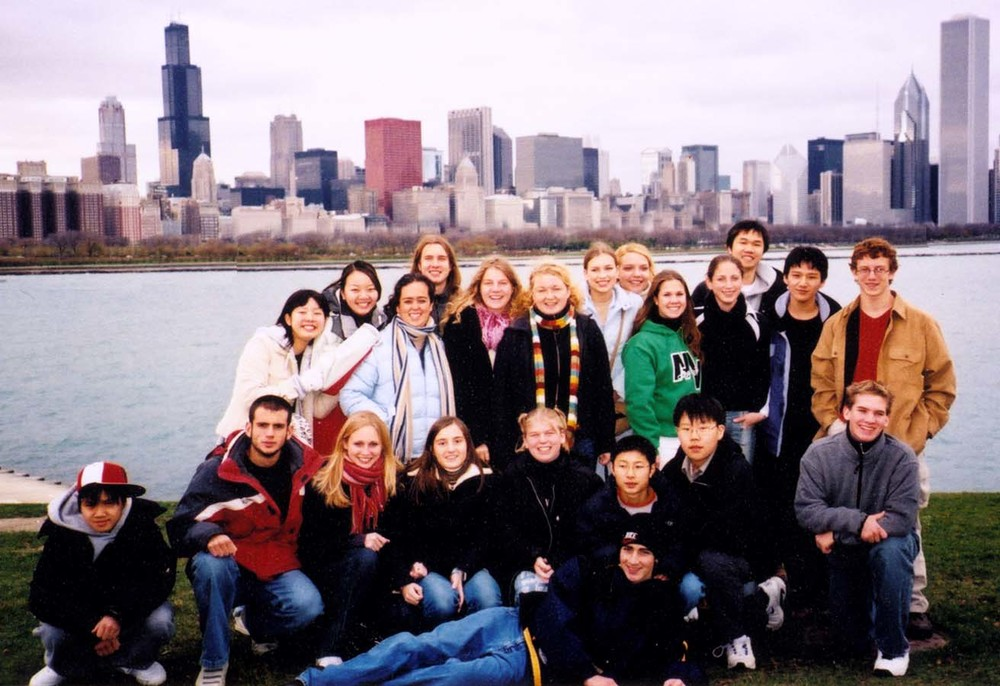 Students from the SHARE! Cedar Lakes Region visit Chicago