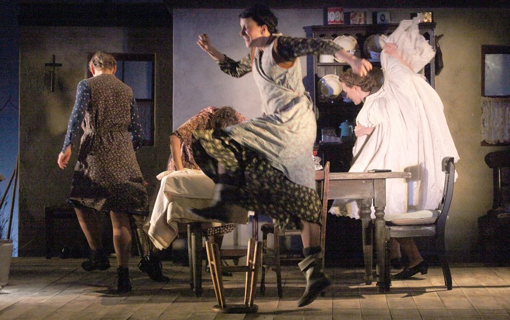 Dancing at Lughnasa is a 1990 play by dramatist Brian Friel set in Ireland's County Donegal in August 1936 in the fictional town of Ballybeg. It is a Memory play told from the point of view of the adult Michael Evans, the narrator.