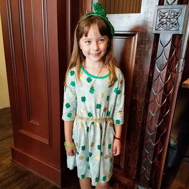 Layla was dressed to impress today!  Can't wait to see her @celticclassic attire!  Speaking of, it's just around the corner and we'll have Walnut Street closed to continue the party outside!  For more details regarding the #CelticFringe visit redstagpub.com !
