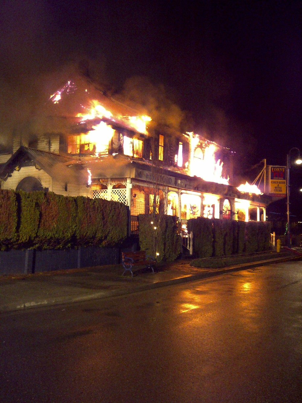 The Lorne Hotel Fire