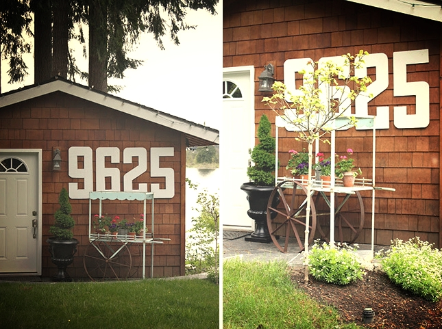 VERY visible house numbers!
