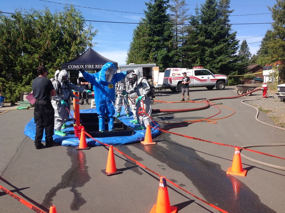 Decontamination training