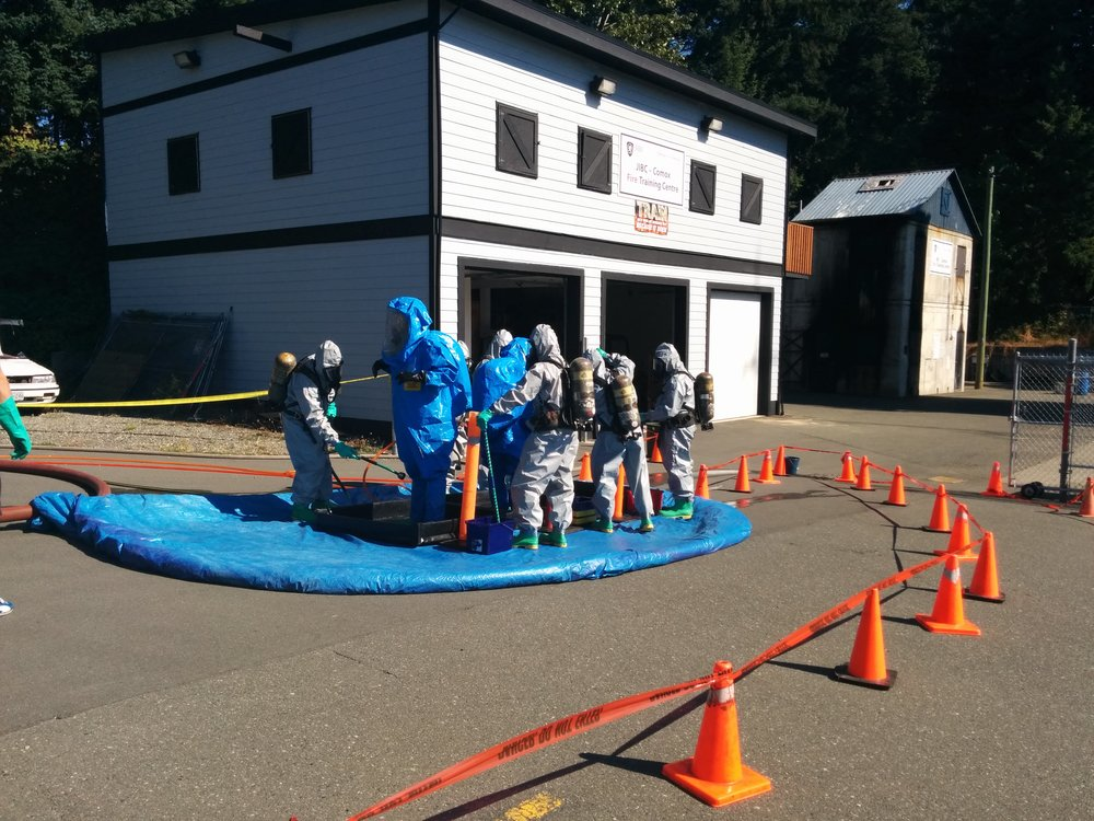 Comox Fire Training Centre offers HAZMAT Awareness and Operations courses