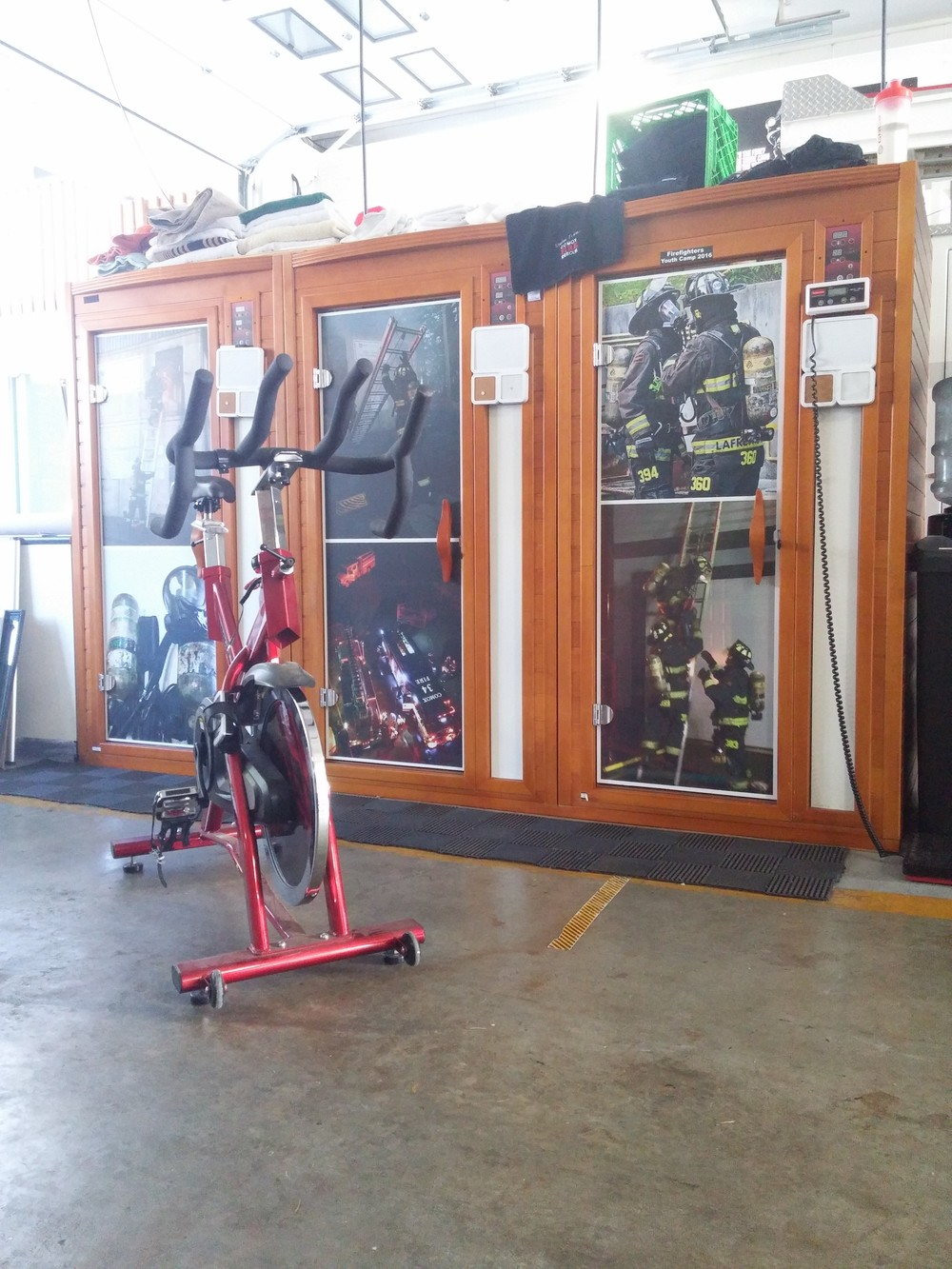 comox-fire-rescue-sauna-spin-bike.jpg