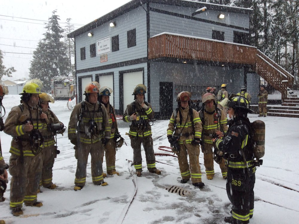 Fire Attack in the snow!