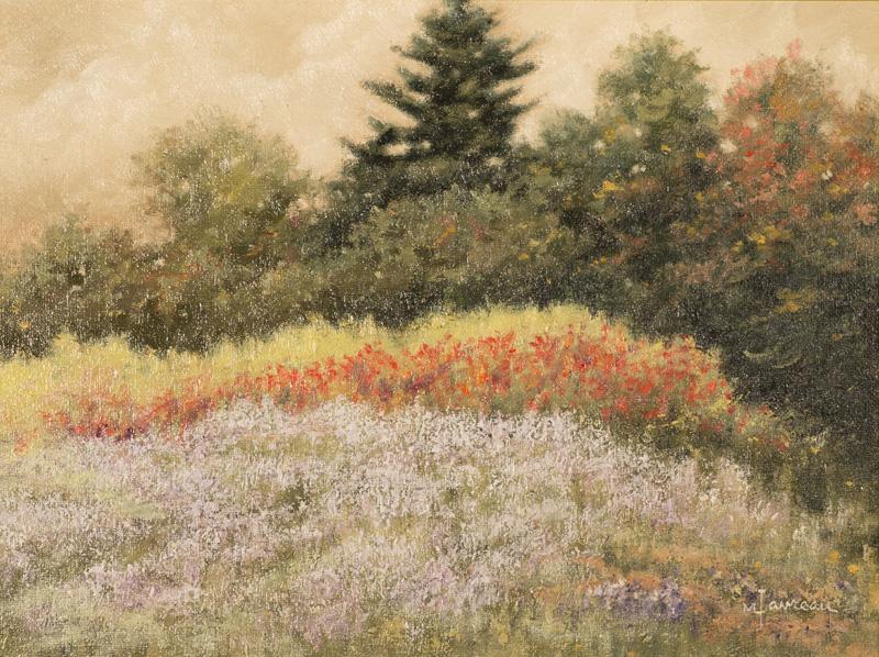 "Automne St-Bruno  Oil/Canvas 12x16"" //30,48x40,64 cm"