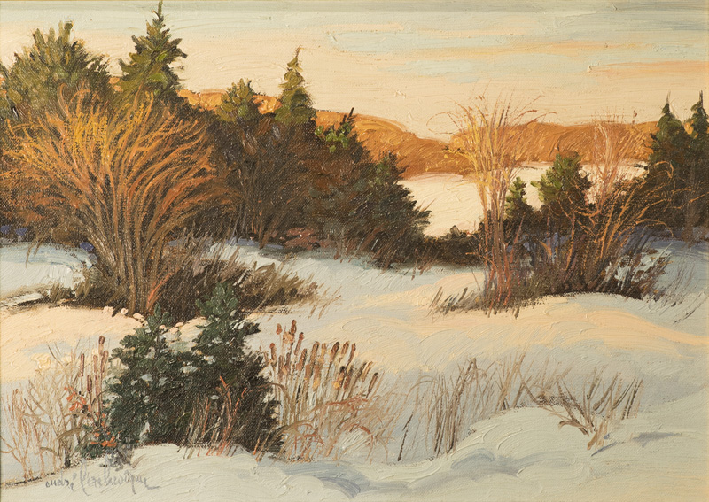 """Et le soleil se couchera.. Oil/Canvas 10x14"""" // 25,4x35,56 cm"""