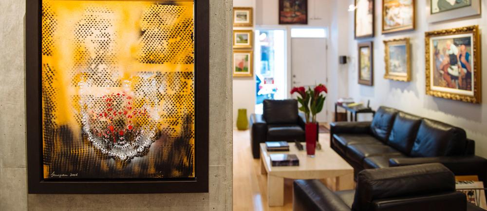 Galerie d'art personnalisée au coeur du vieux Montréal
