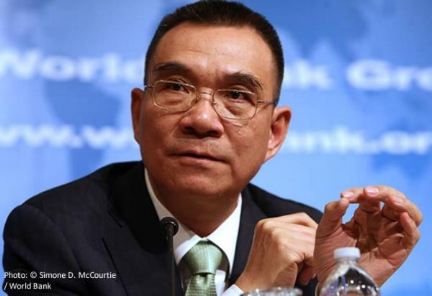 Justin Yifu Lin 林毅夫 Chief Economist World Bank, 2008-2012
