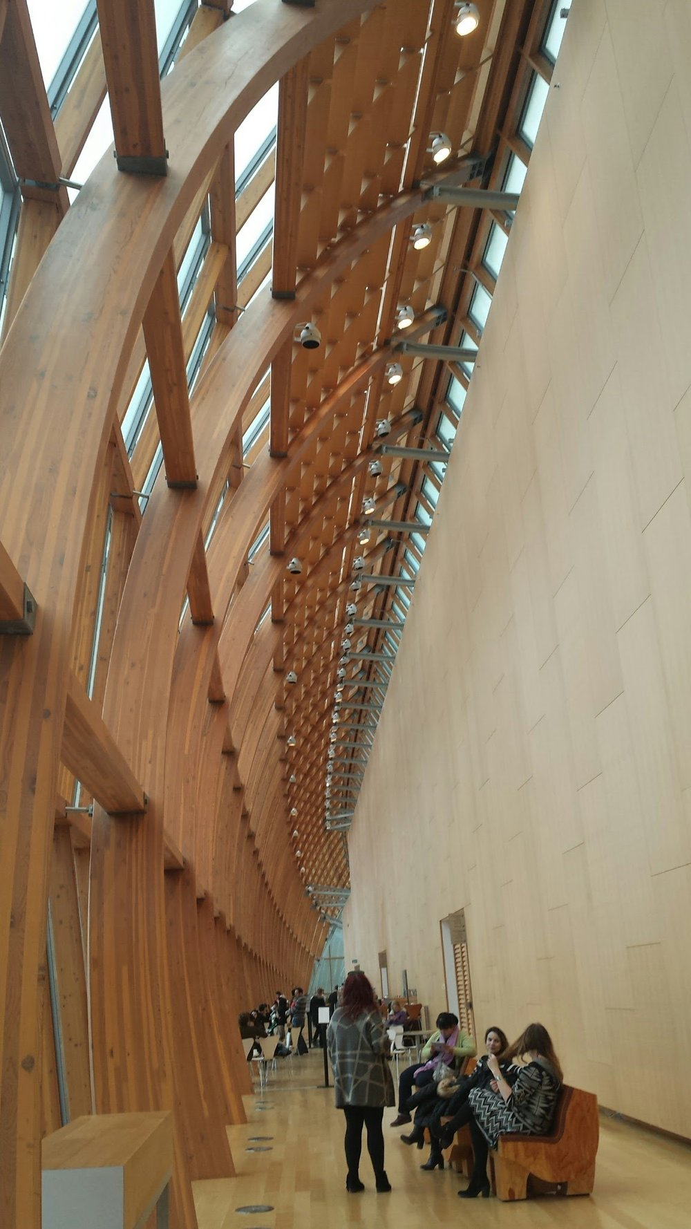Ontario Art Gallery, photo by Weihang Wang on her trip to AAS