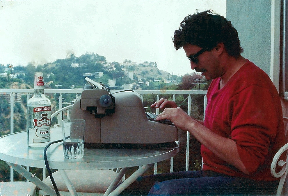 Working in the Hollywood Hills, 1984