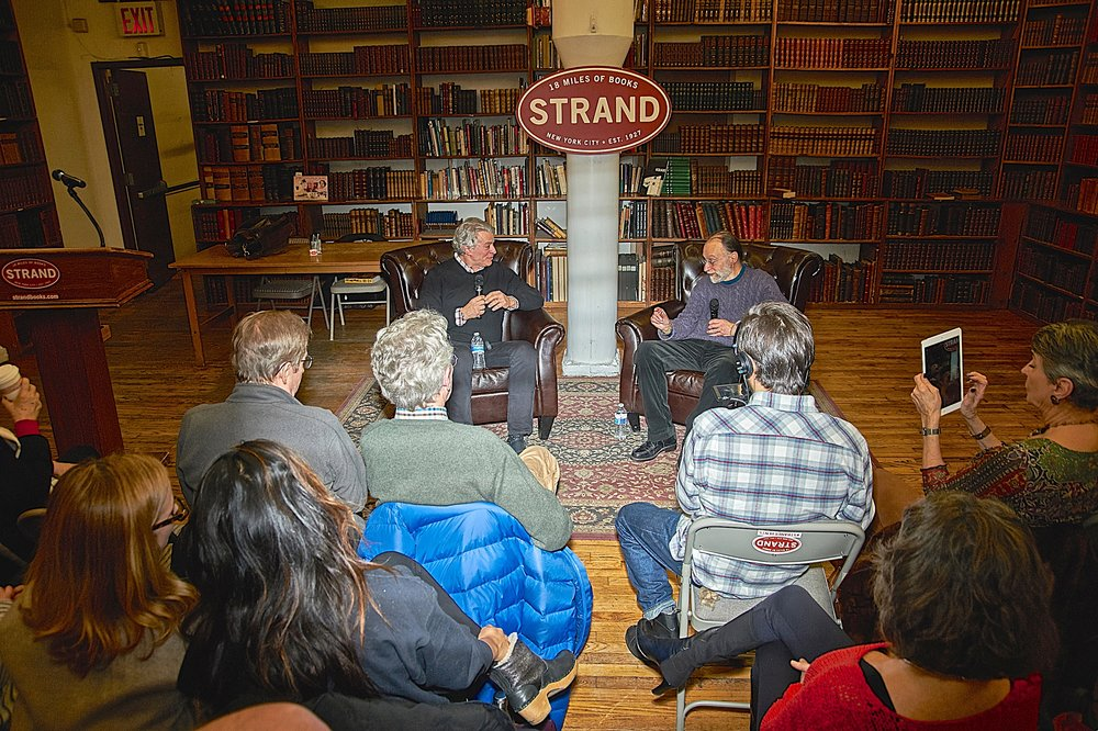 Discussing Bop Apocalypse with John Tytell at the Strand, January of 2017