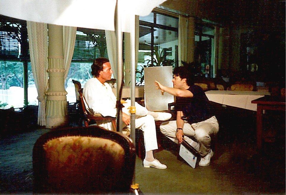 Directing Julio Iglesias