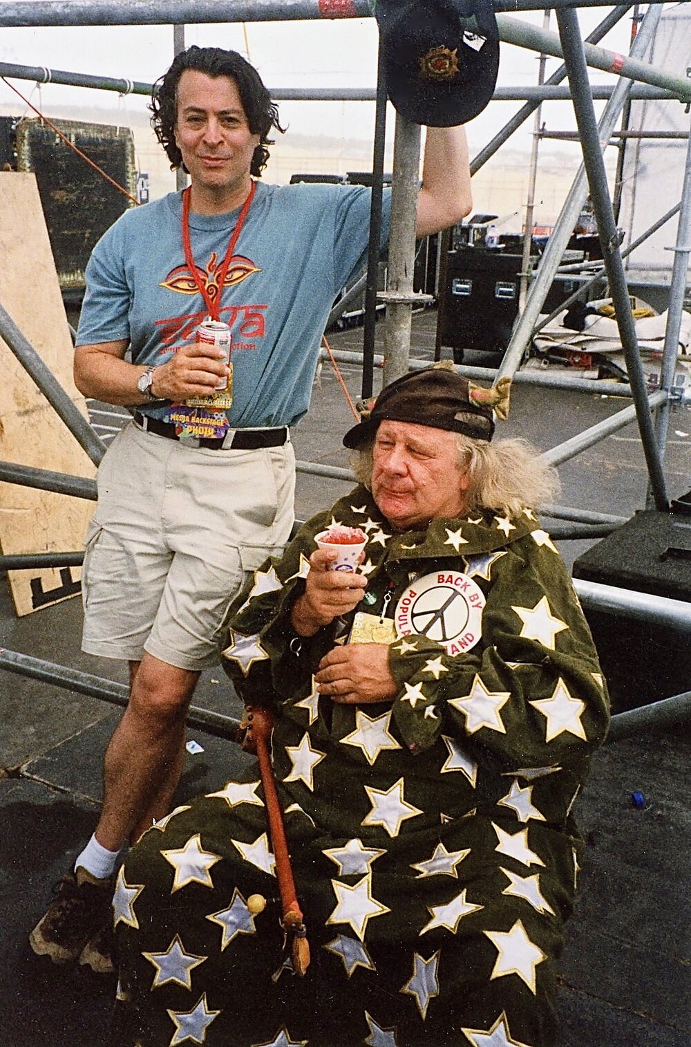 Backstage with Wavy Gravy, Woodstock '99