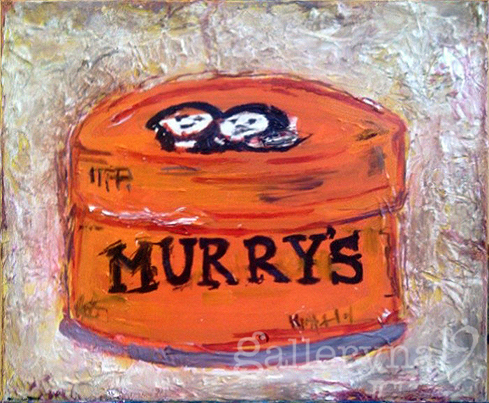 Murry's Pomade Oil, Acrylic on Canvas by Ferrari Sheppard $800