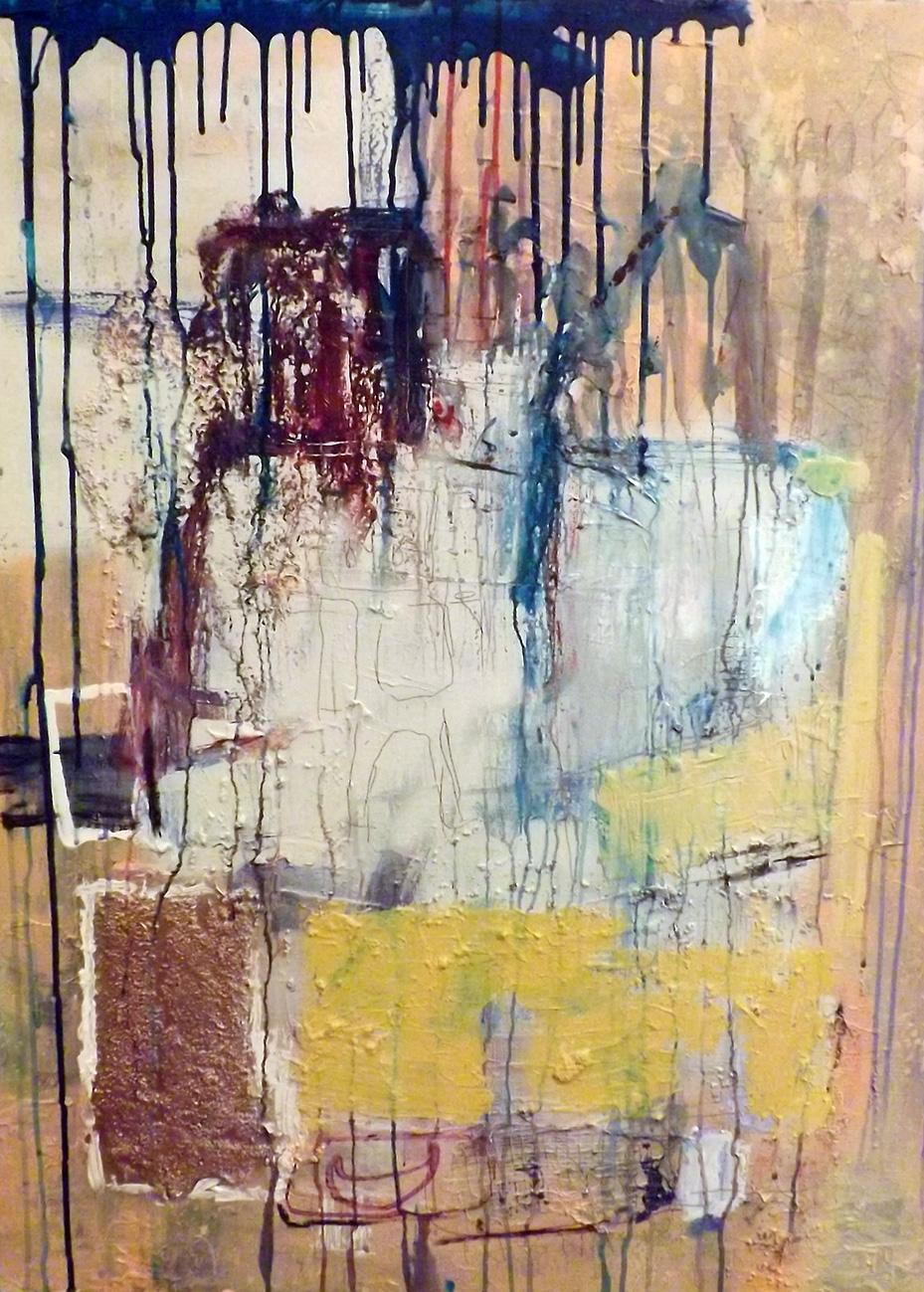 "30x40"" Mixed Media on Canvas by Ferrari Sheppard $2000"