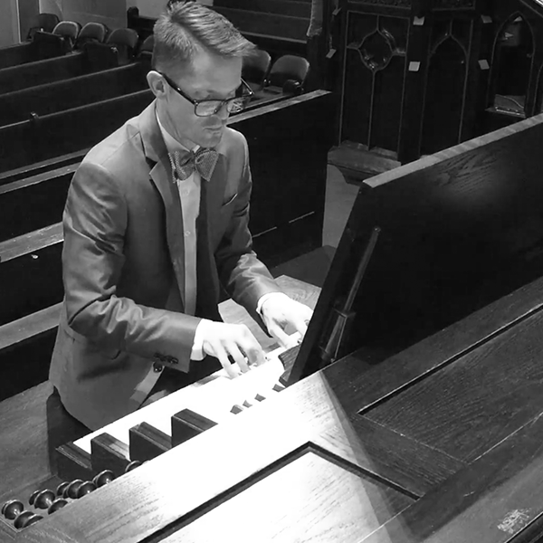 Stephen is our exceptionally talented organist here at First Presbyterian Church. Additionally, he oversees the entire music ministry of the church as well as conducts the adult and youth choirs.  He was born and raised in Norfolk and holds a Bachelor of Music degree in piano performance from Belmont University in Nashville, TN, a Master of Music degree in organ performance and church music from Southwestern Baptist Theological Seminary in Fort Worth, TX, and a Doctor of Musical Arts degree in organ performance and pedagogy from the University of Iowa in Iowa City. As an active concert organist, he has performed throughout the United States as well as in Paris, France.