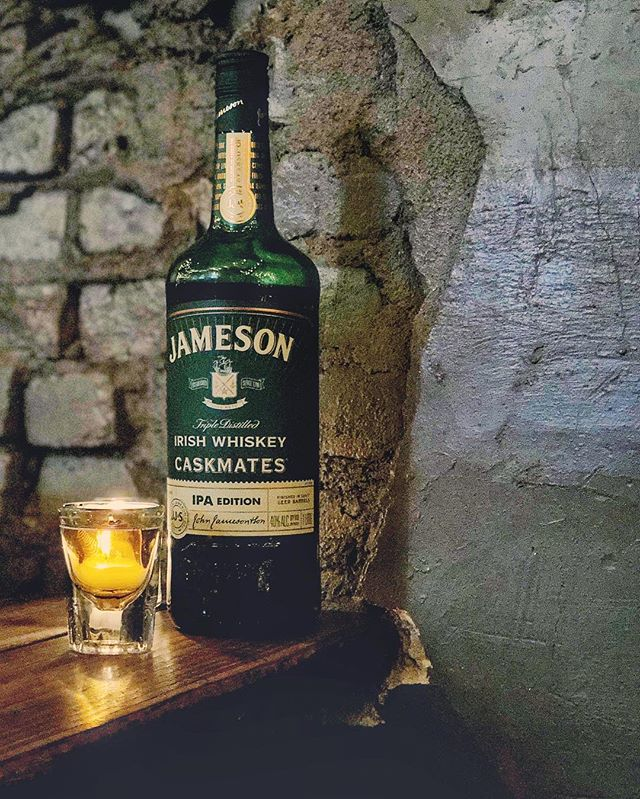Jameson Caskmates IPA tasting and small bites pairing at Porta JC this Thursday! $40 per person hosted by an awesome Jameson ambassador! It's going to be an extremely enjoyable night! So come hang out and stay warm with some whiskey! #jameson #jamesoncaskmates #portapizza #jerseycity #newjersey #jameo #whiskey